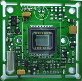 Wide Dynamic Range CCD Board Camera OSD Menu 480TVL