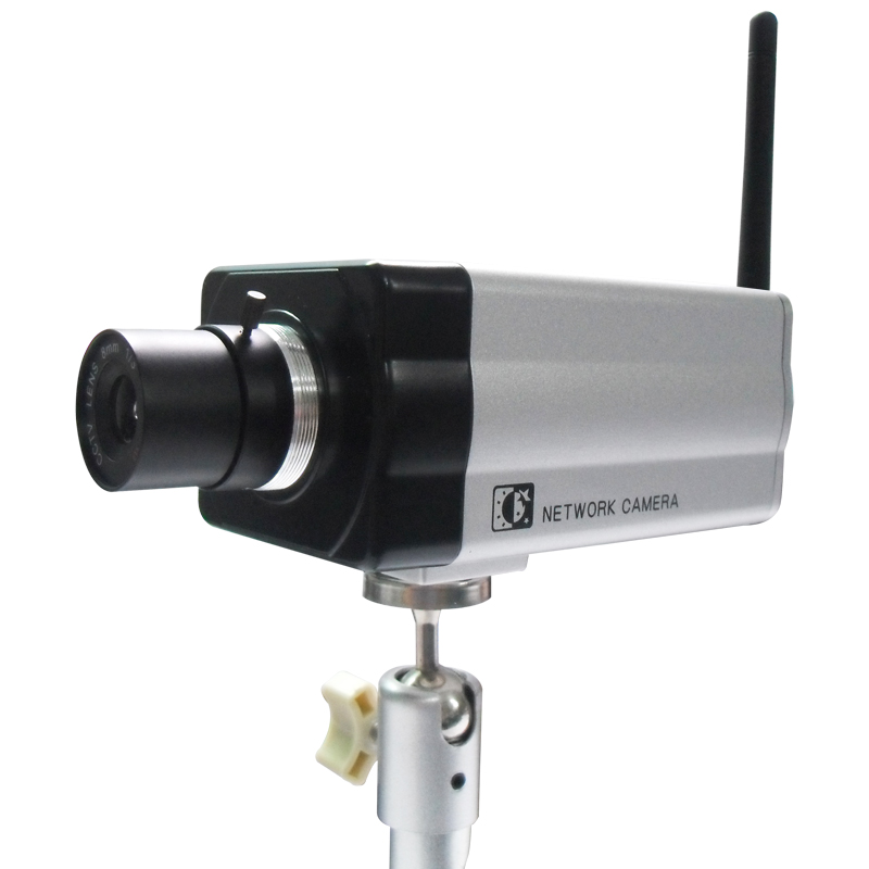 Wireless Wifi H.264 Mega pixel IP Camera with two Way Audio
