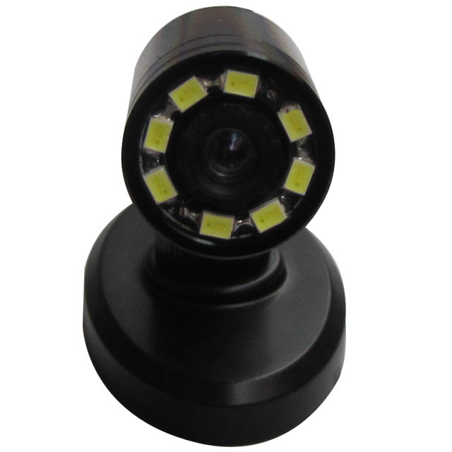 Day/Night 520TVL Mini CCTV Camera with 8 LEDs F1.2 and 90 deg view angle