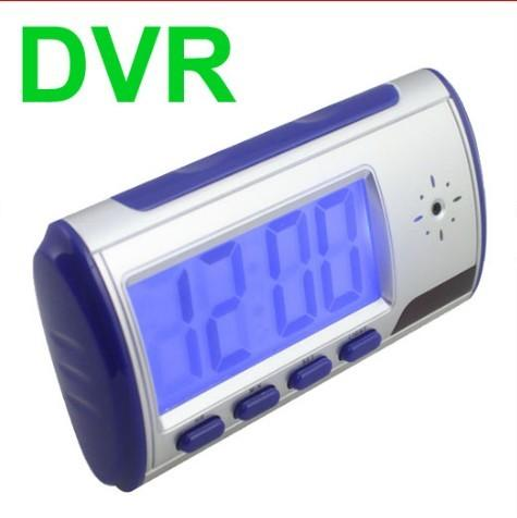 Remote Spy Clock Hidden DVR Camera Motion Detector