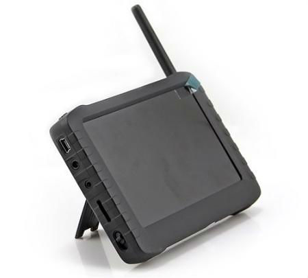 HD 5.8GHz Wireless DVR Receiver 5inch Screen FPV Monitor Wireless AV DVR