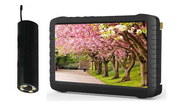 Wireless Borescope Camera 24GHz Wireless Camera Mini HD DVR