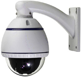 10X Optical Zoom Samsung Camera + Indoor Dome Camera