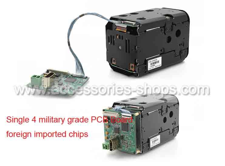 HDMI PCB CCTV Camera Board For SONY HD FCB Module Code Control Board