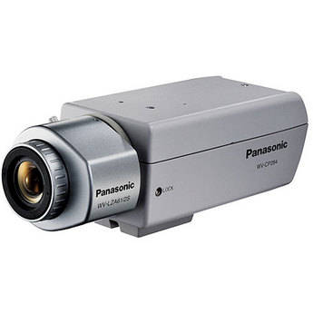 Panasonic WV-CP284 1/3 Color High Resolution Camera with Adaptive Black Stretch and Day/Night Function