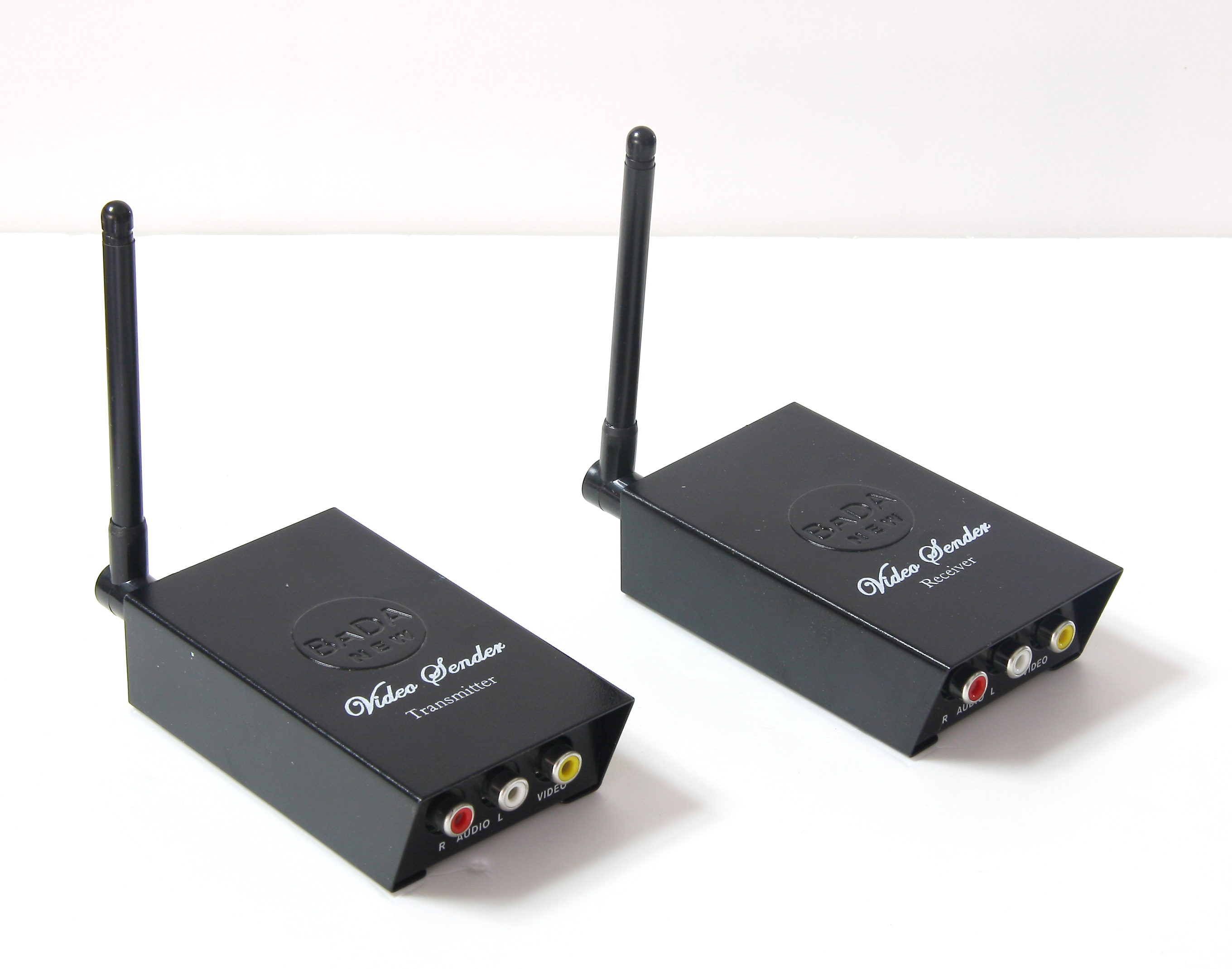 BADA 24GHz Wireless Audio Video Transmitter Receiver Sender 4