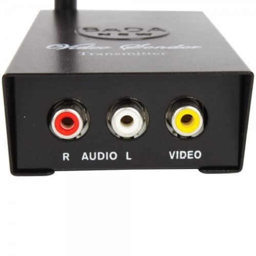 2.4GHz Wireless Audio Video Transmitter Receiver sender 4 Channels A/V